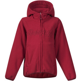 Bergans Bryggen Jacket Barn red/burgundy